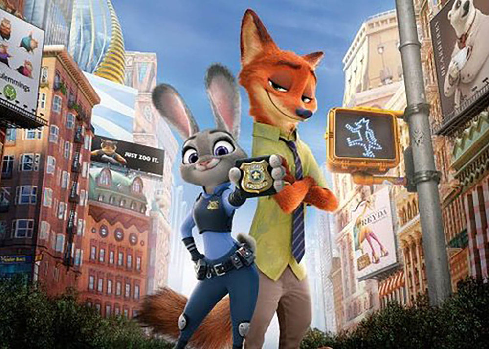 #15Zootopia - There were definitely political undertones here, but the overall message was good. Plus, the characters are cute little critters and Jason Bateman is front and center. Can't beat that!