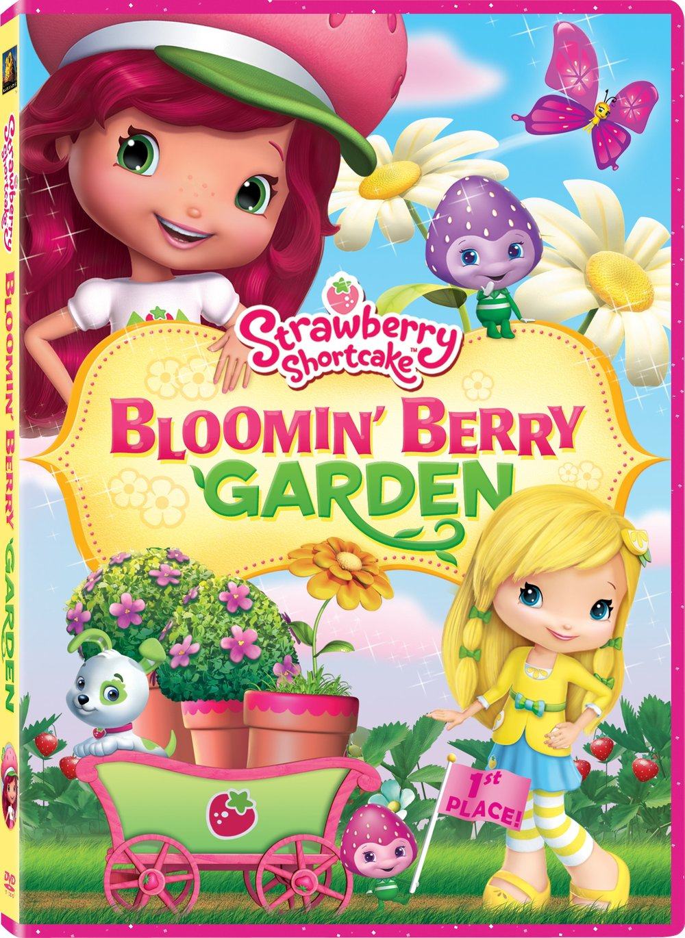Strawberry and her friends are in for some great garden fun as they prepare for a very special jam-stomping contest. But when some magical sparkles make the Berrykins grow tall and the girls shrink down small, they discover that even when they're tiny, they can make a big difference. It's gardens, giggles and girl power galore in these berry exciting adventures!