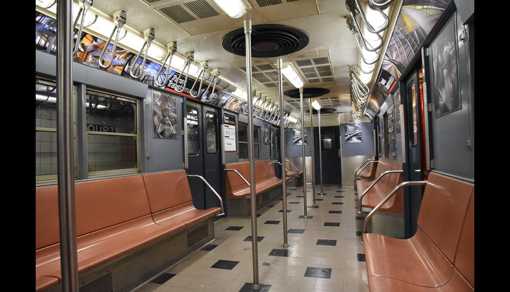 NY Transit Museum, Installation shot 1, 2017