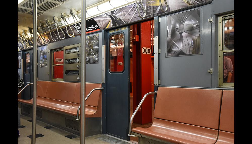 NY Transit Museum, Installation shot 2, 2017
