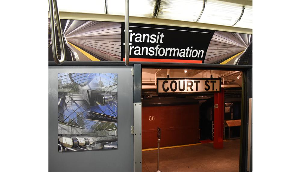 NY Transit Museum, Installation shot 3, 2017