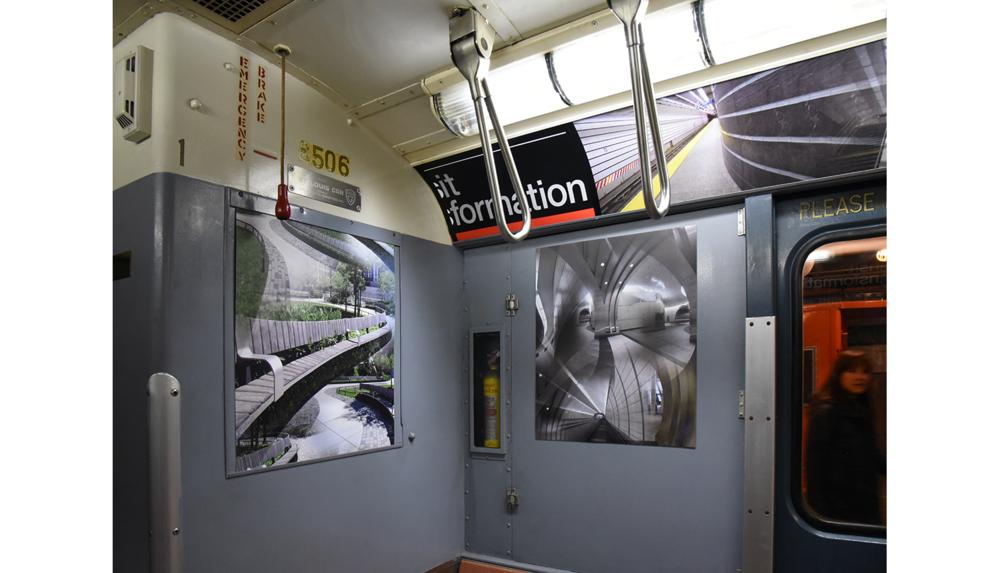 NY Transit Museum, Installation shot 4, 2017