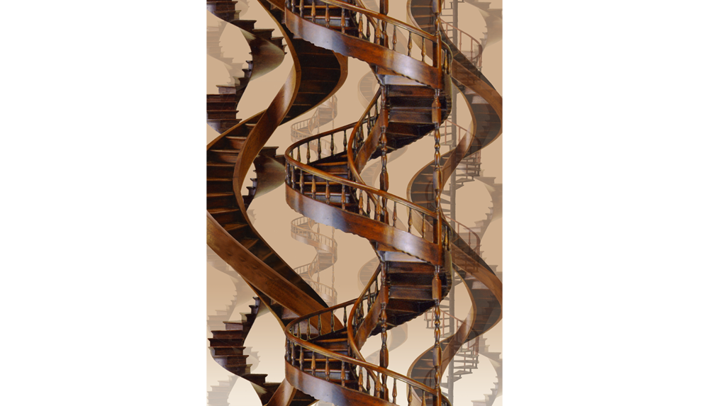Stairway to Heaven , 2007, Digital print on paper, 11 x 14""