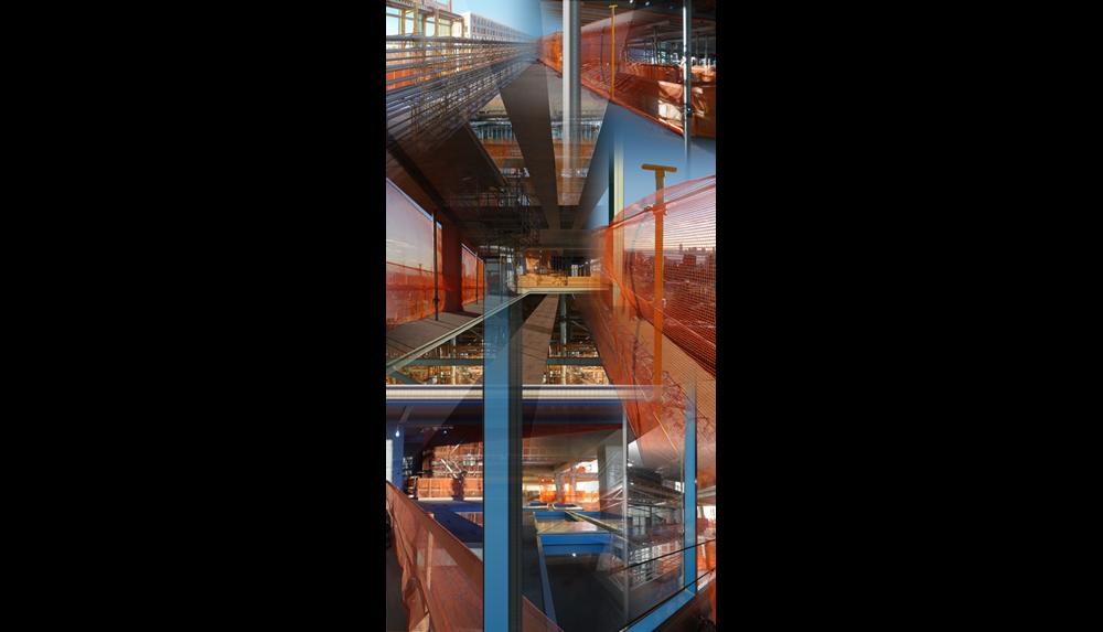 "HY 3 , 2015, Digital C print, 26 x 50"""
