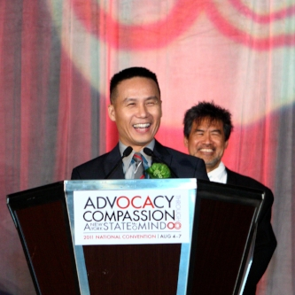 2011 OCA Pioneer Award Honoree Actor BD Wong