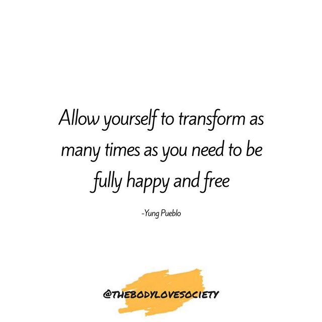 Forever changing, forever learning, forever growing, forever transforming. Never stop giving yourself the gift of up leveling your life and learning the skills to find your happy and your freedom! . . . . . . . . #thebodylovesociety . . . . #bodylove #bopo #bodypositive #selflove #loveyourself #edrecovery #mentalhealthawareness #antidiet #personalgrowth #bedrecovery #anarecovery #uplevel #luna #selflovejourney #effyourbeautystandards #endthestigma #anxiety #bodyconfidence #embracethesquish #allbodiesaregoodbodies #futuremama #spirituality #neda #everybodyisbeautiful #intuitiveeating #orthorexia #depression #haes