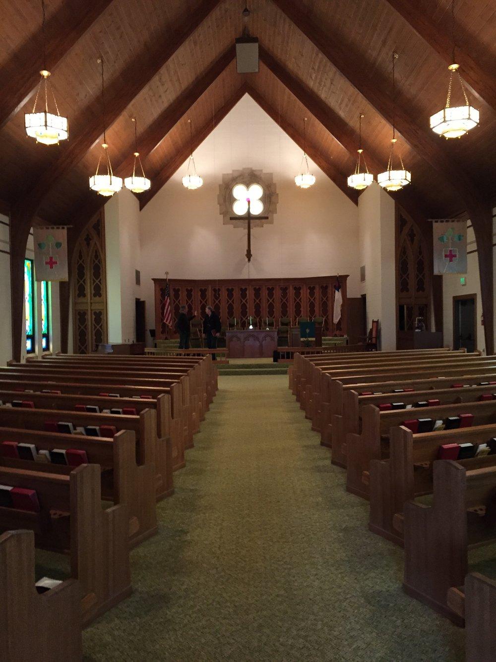 Shilo United Methodist Church - Before