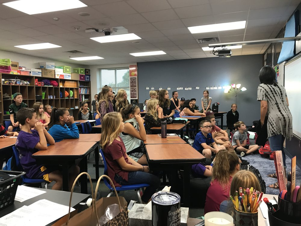 Kimberli shared her story about the Ghanaian kids to her 5th grade class, and they instantly discovered that because they have access to education in Prosper, TX, so should the kids in Ghana that are so vulnerable to modern day slavery.