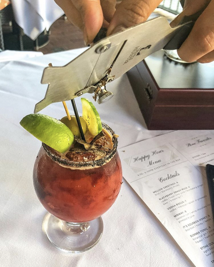 Gresystone steakhouse truffle bloody mary best bloody marys san diego bloody mary obsessed.jpg
