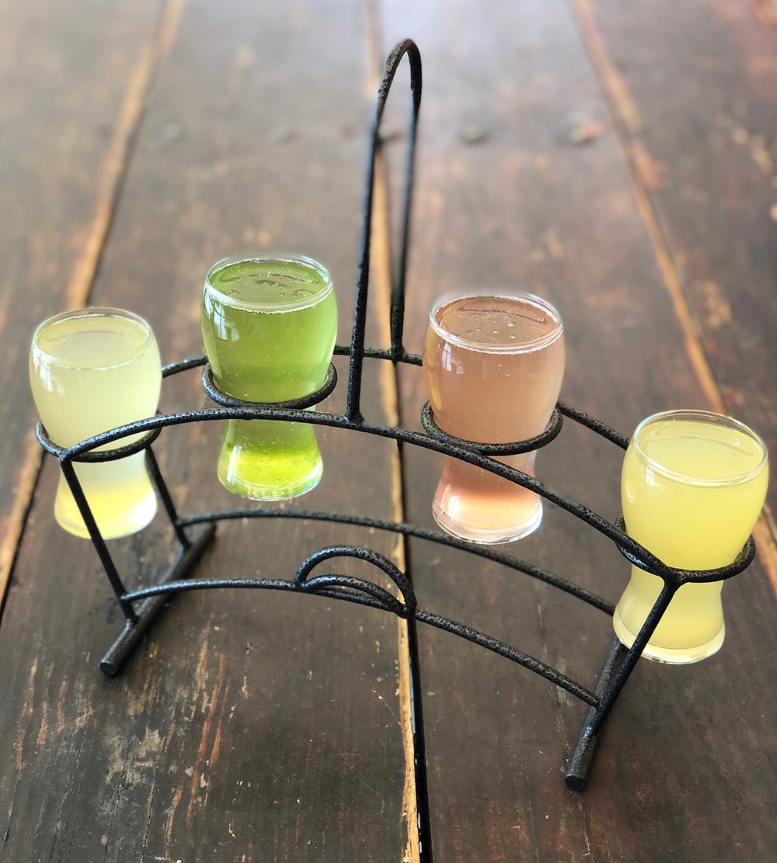 Fig Tree Cafe_Tropical Fruit Mimosa Flight brunchfaced easter weekend san diego bloody mary obsessed.jpg