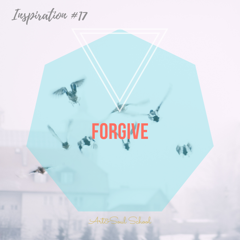FORGIVE  Resentments are a powerful way to give up power to other people and circumstances. Taking over and claiming your power and building up inner strength always means to forgive. First, forgive yourself, then others and circumstances and finally forgive life itself.
