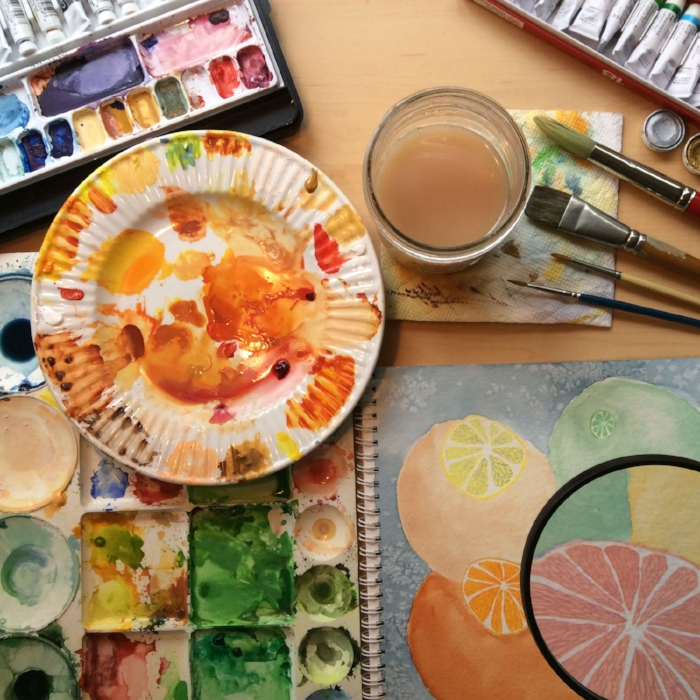Painting-citrus_Rebecca-Gerendasy