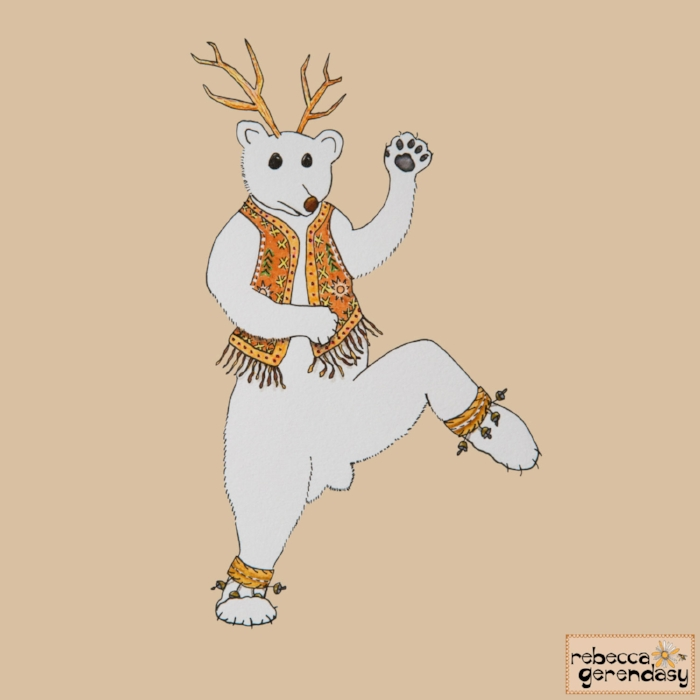 Dancing-Polar-Bear_Rebecca-Gerendasy