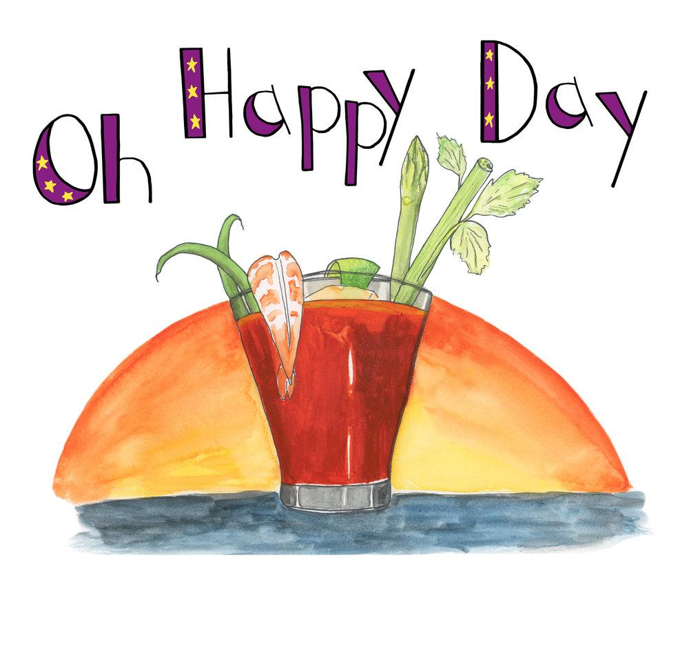Oh Happy Day - Birthday Card