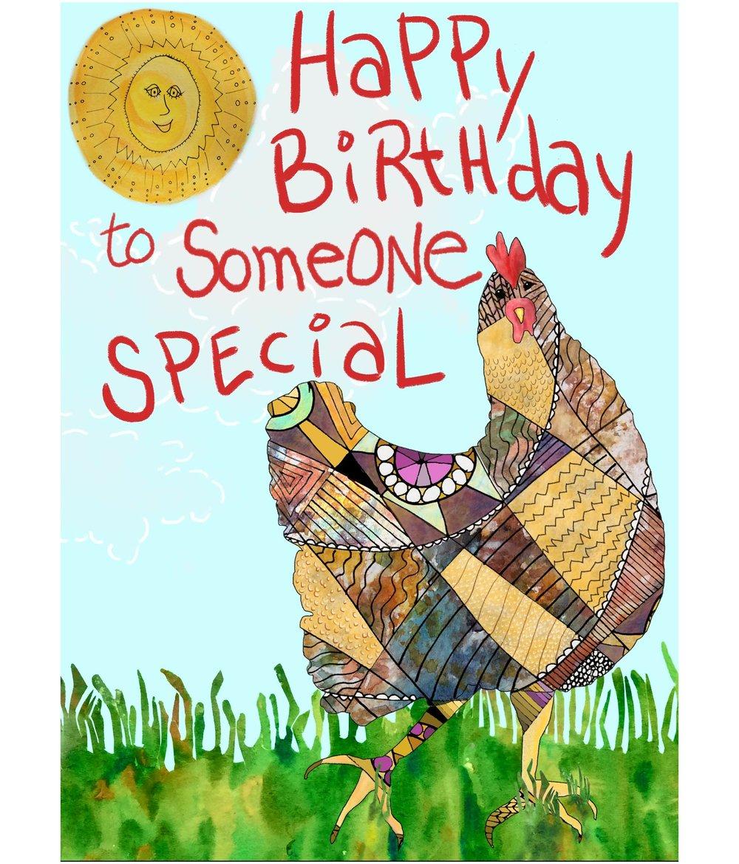 Happy Birthday To Someone Special - Birthday Card