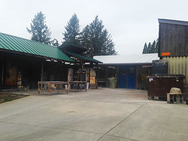 The Ceramic Studio at the Oregon College of Arts and Crafts, Portland, Oregon