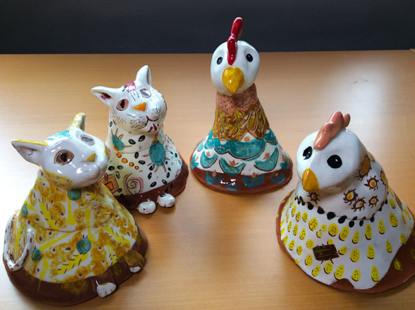4 Spirit Animals: Ginger, Calypso, Jenny, and Dot