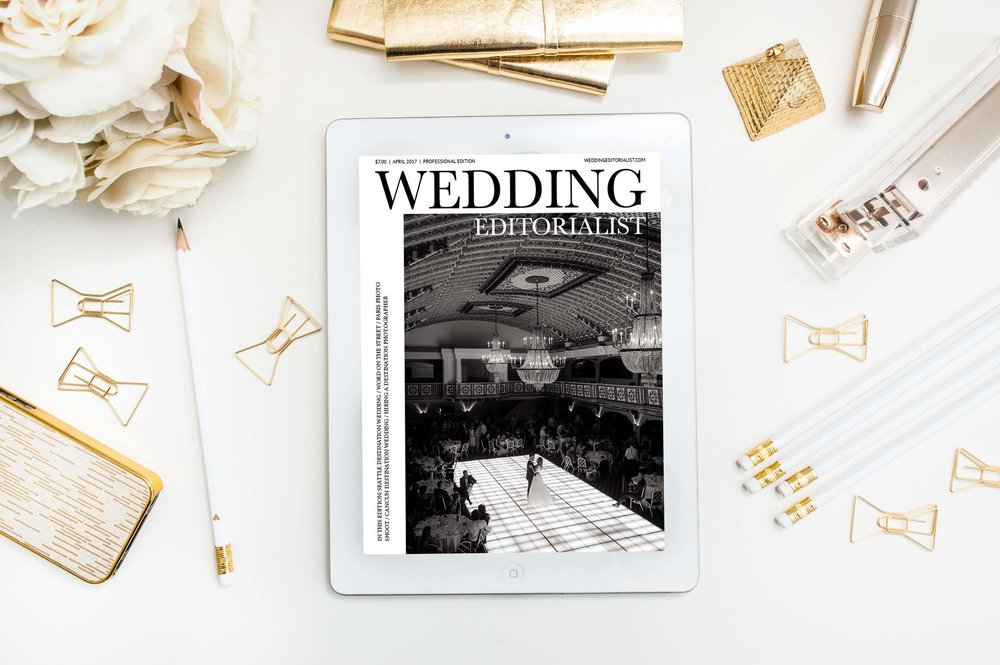 Rebecca Marie applies a fine art approach to her destination wedding photography business. This issue of The Wedding Editorialist beautifully showcases some of her favorite couples while also providing professional insight and advice to newly engaged and married couples. CLICK HERE TO READ.