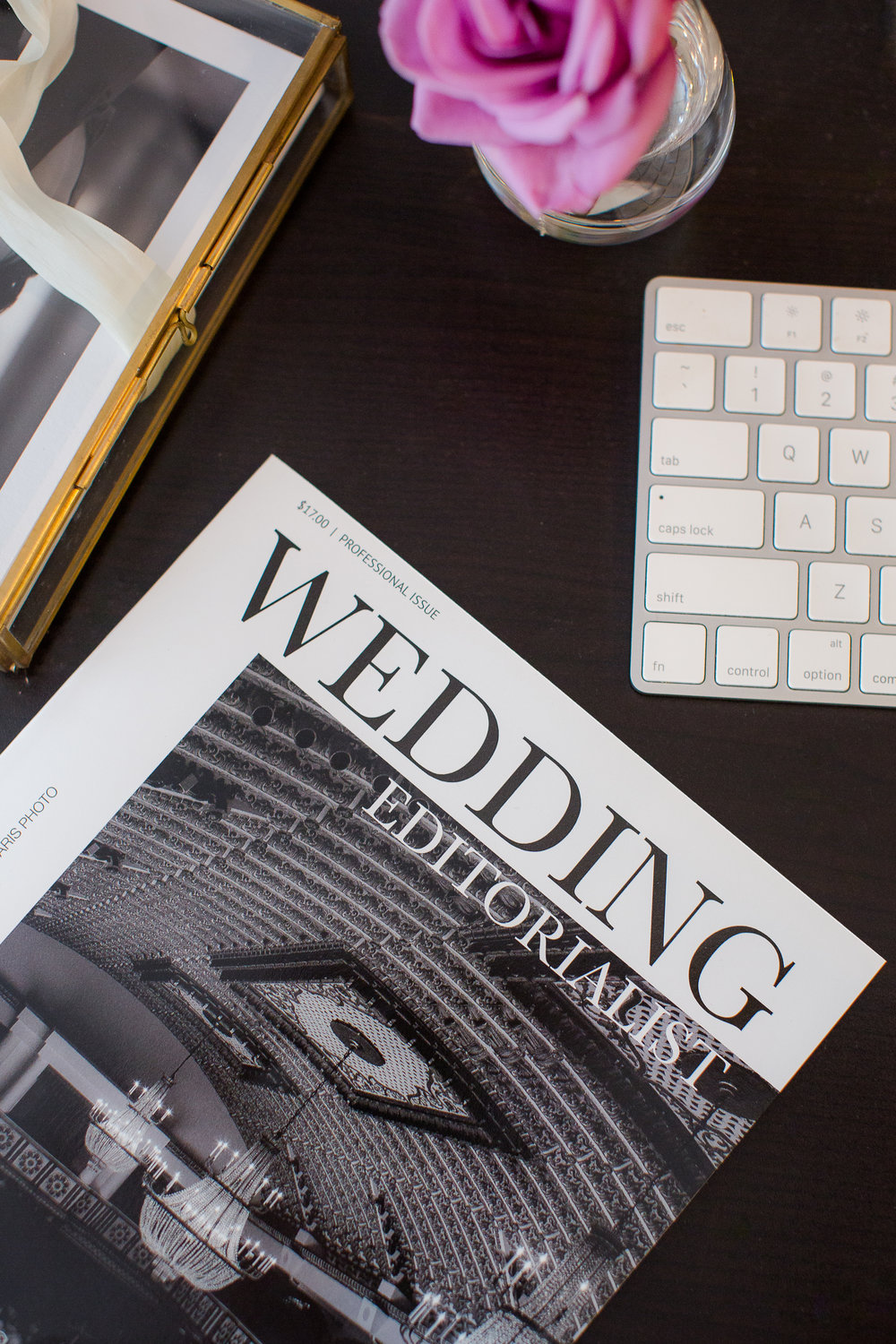 Sumbit your wedding today! An entire wedding magazine dedicated to you from cover to cover.  In print, and available online. Photo courtesy of T and R Stock.  www.weddingeeditorialist.com #weddingmagazine #weddinggift #weddingfavor