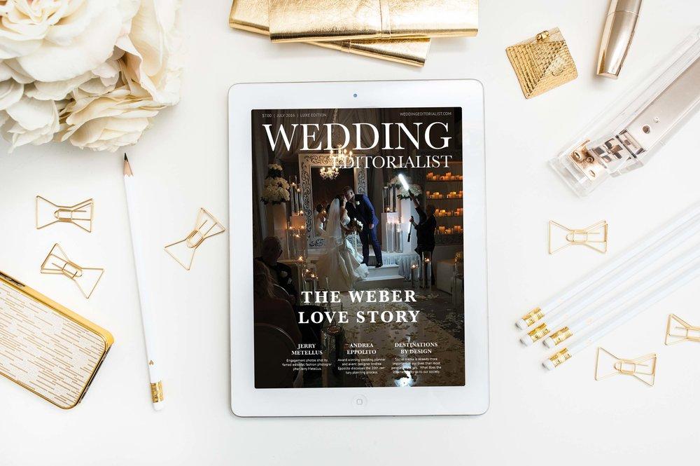 Jennifer and Zane's Real Wedding Custom Magazine