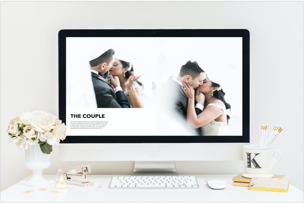 The Wedding Editorialist Magazine included an article on Archana and Diego as a couple. Readers have a chance to get to know them, and learn more about how they fell in love.  Wedding designed by  Andrea Eppolito  with images by J.Anne Photography.