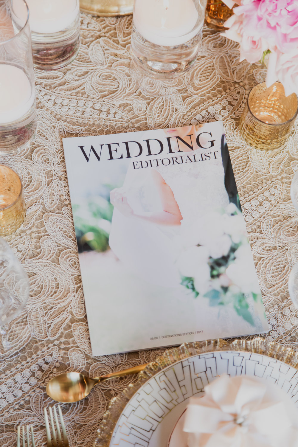 Real Wedding Magazine! Contact our editors now to create your personalized wedding magazines! Made to order for couples in love. Photo by Adam Frazier.