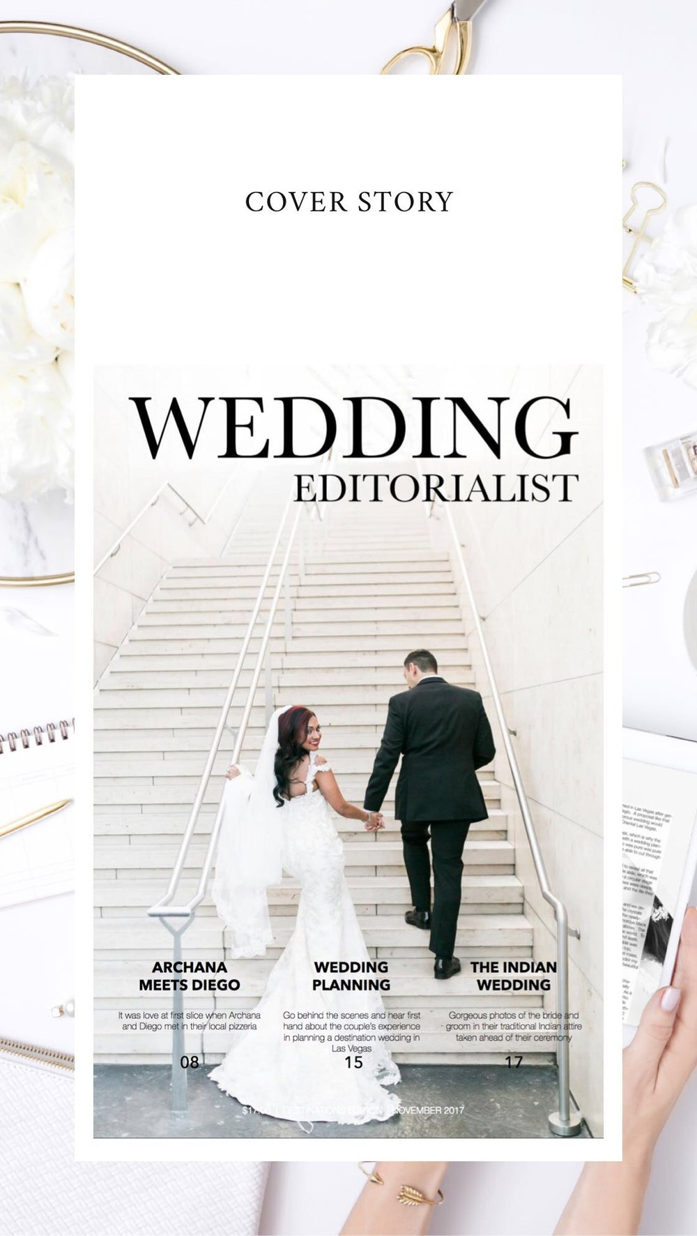 Every love story deserves to be told!  Get 30% off of your custom wedding magazine today with the code BLACKFRIDAY30.