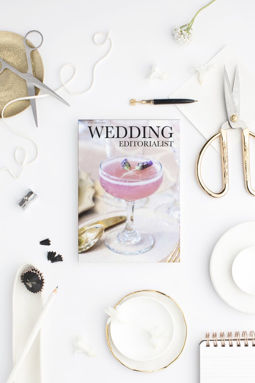 Custom magazine dedicated to a cocktail catering company. www.weddingeditorialist.com