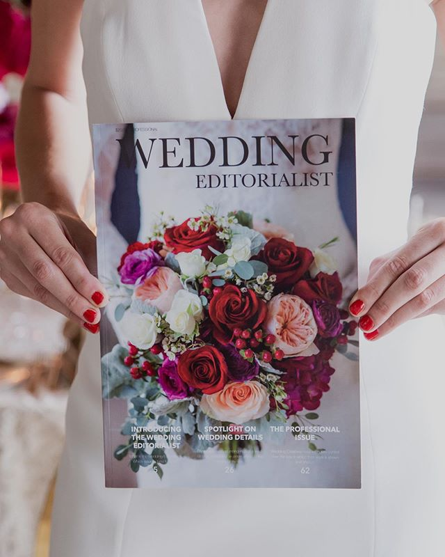 Printed wedding magazines are disappearing fast. And it breaks my heart!  But I get it...I understand what goes into the design and production of an issue. But I also know the joy of holding something - an actual thing! - but your hand.  Print is struggling, but print is not dead. Print is simply reserved for luxury. It's reserved for those who care....for couples and creatives who value having a moment and a message frozen in time, something tangible that they can pass down.  That's why we love The Wedding Editorialist is so important to us, and why we are doubling down on getting our issues out to you.  Why?  Because you deserve to have something you can hold onto.  Photo @adamfrazierphotographer