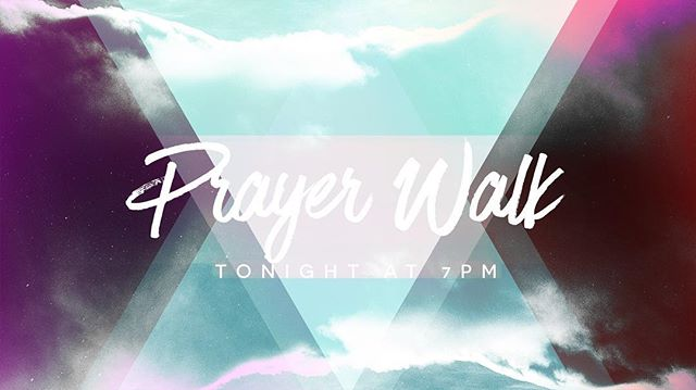 Come out tonight for worship and a time of prayer as we walk around the campus and pray for this school year and much more!