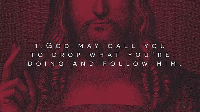 Last week, we looked at Jesus calling the disciples and how He is calling us too! Take a look at some of the main points as we prepare to meet tonight at 7PM.