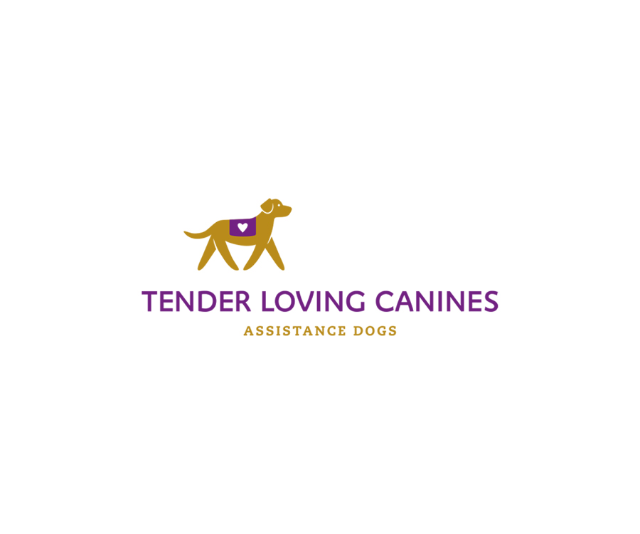Logo for nonprofit providing custom-trained service dogs to individuals with autism and Wounded Warriors in San Diego County