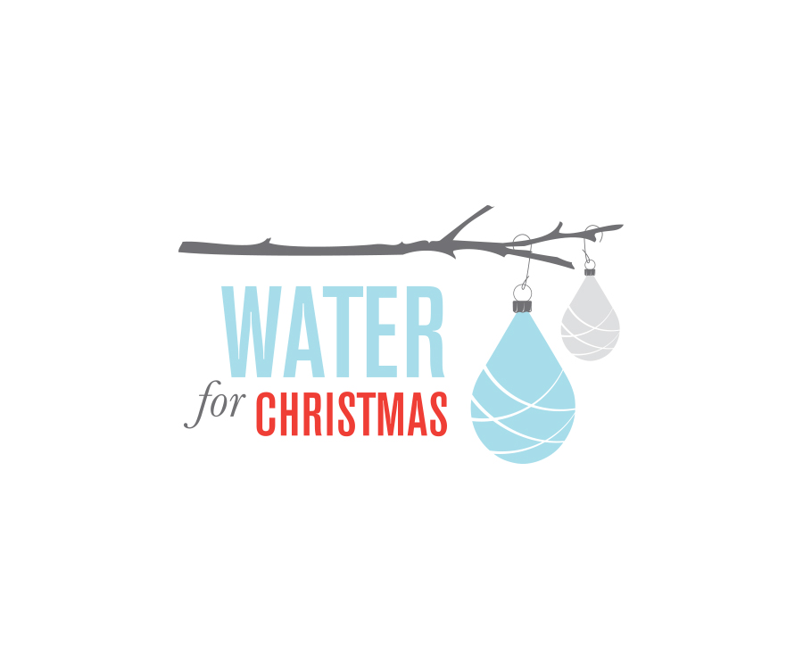 Logo for holiday fundraiser supporting clean water organizations