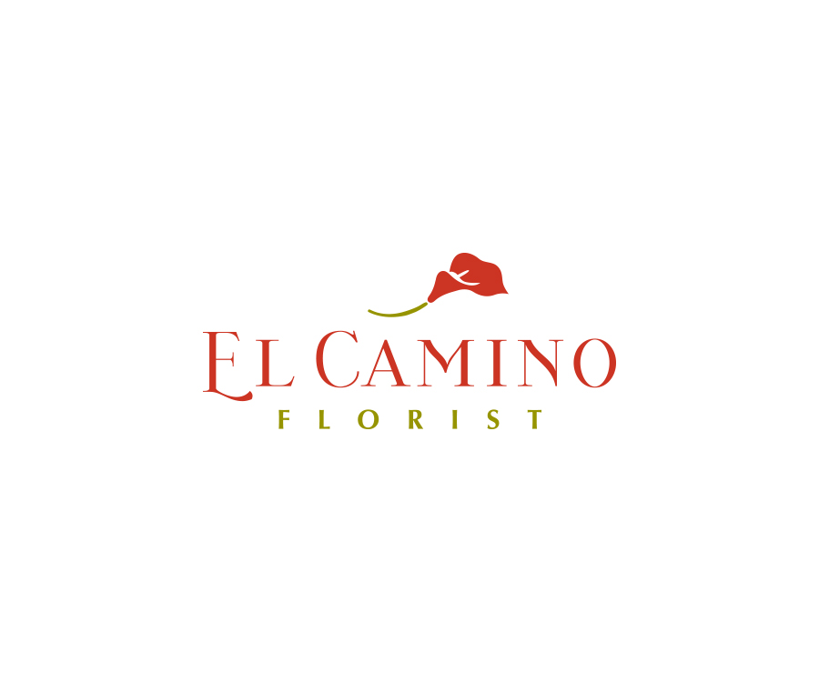 Logo for local florist serving funeral and memorial services