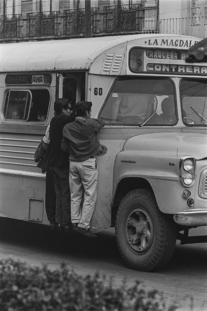 Bus travellers