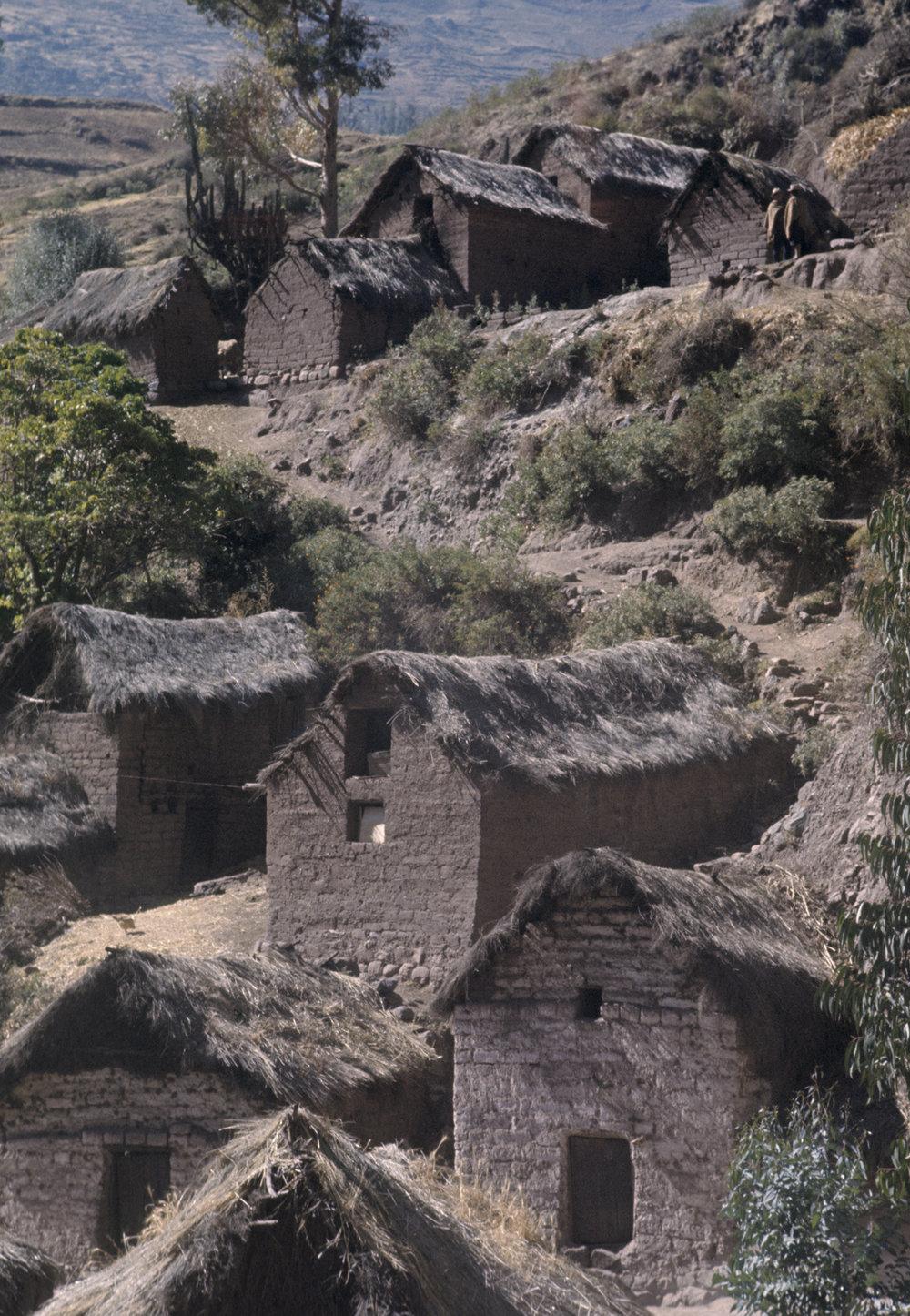 Pisac, Peru. 1969.
