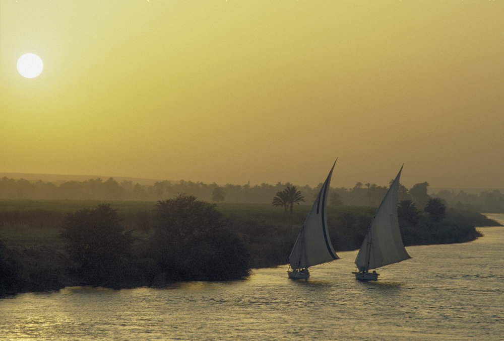 River Nile, Egypt. 1979