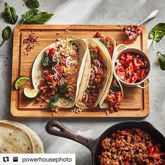 Always a pleasure working with the dude @powerhousejonny banging out some vegan style treats. #Repost @powerhousephoto with @get_repost ・・・ Burrito without the bull?⛔️Mexican themed lunch inspo this cold Thursday afternoon 🌶📷 by @powerhousejonny for our friends at @icelandfoods #foodphotography #foodstylist #vegan #vegetarian #commercialphotography #mexicanfood #f52grams #feedfeed