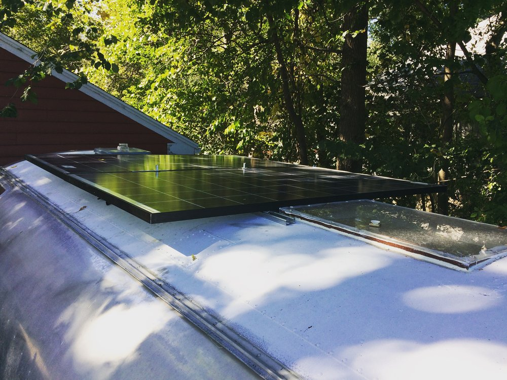 SOLAR INSTALL COMPLETE