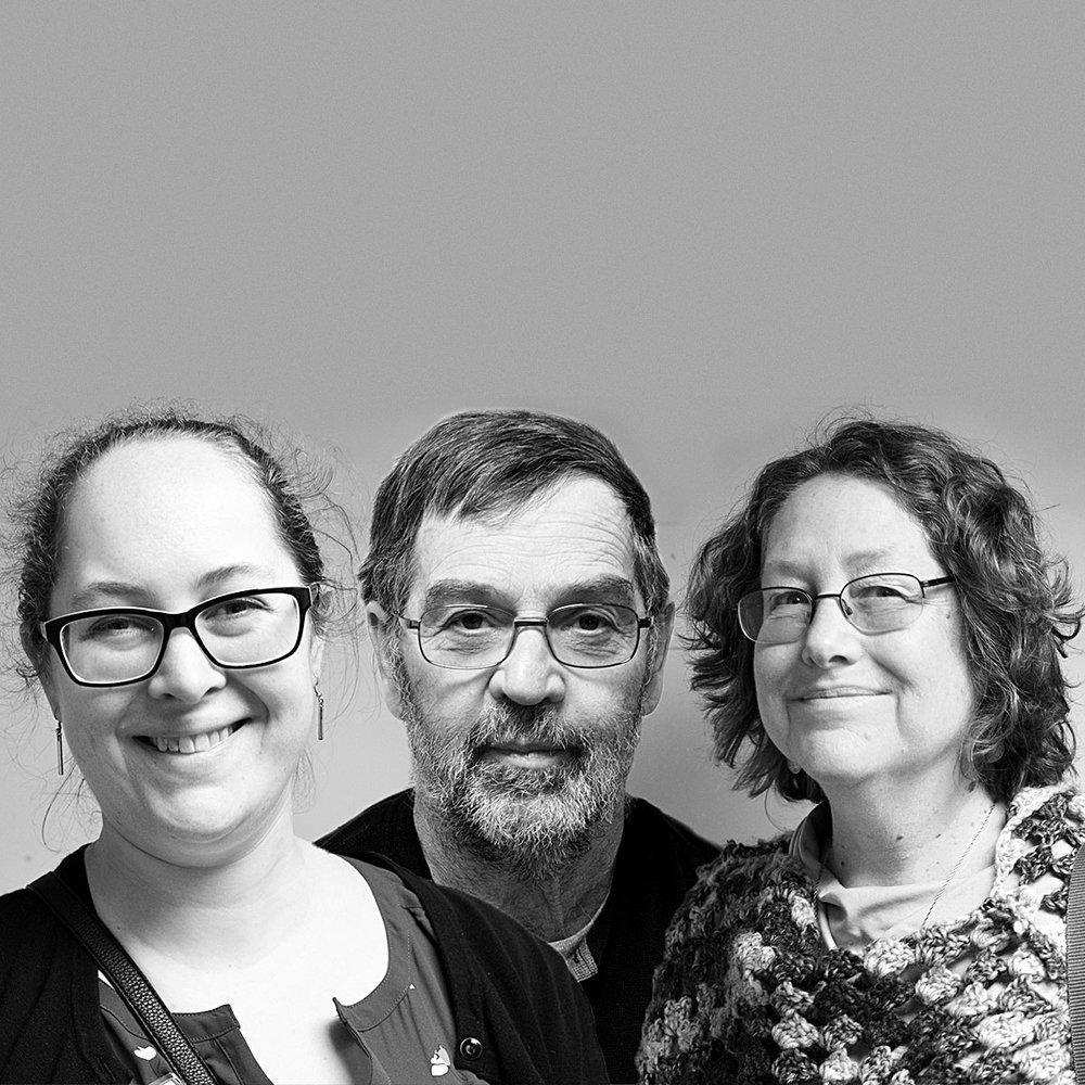 Coming Soon... Dave, Cynthia, Emily Thomas