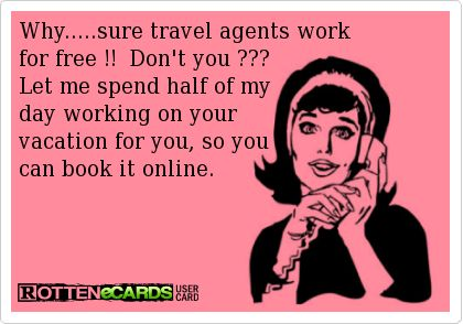 Apparently this is a big problem for travel agents. But this is exactly what I want you to do! Gain independence and feel confident booking your own trips.