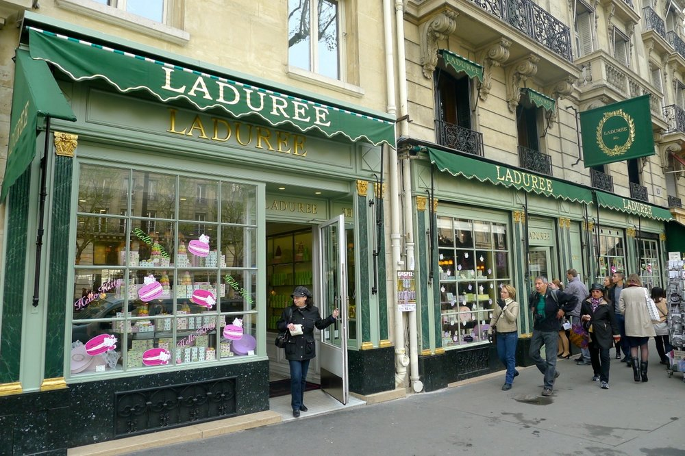 While researching this trip, I found there is a Laduree in Beverly Hills! Except I would rather fly to Paris than get on the 405.