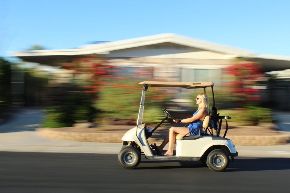 Palm Springs with free accommodations including golf cart! I can teach you how.