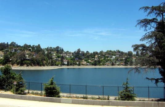 Silver Lake Reservoir - at full capacity