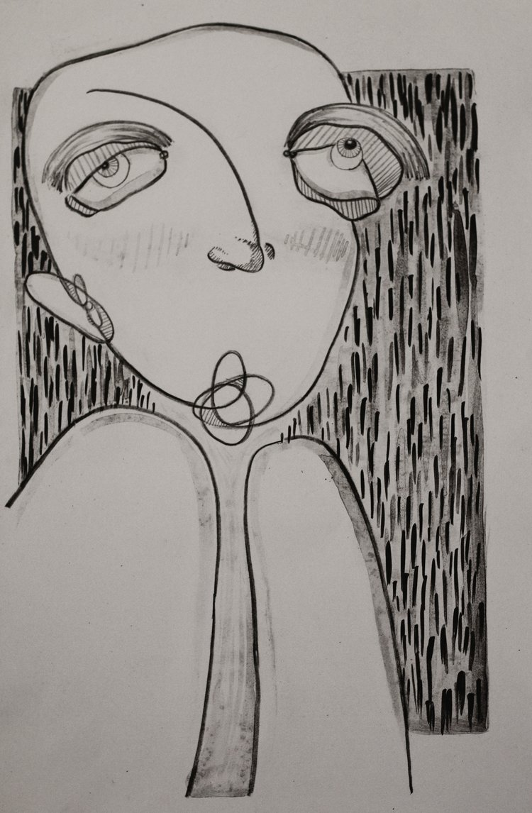 """Untitled 11x14"""" Lithograph print 2016"""