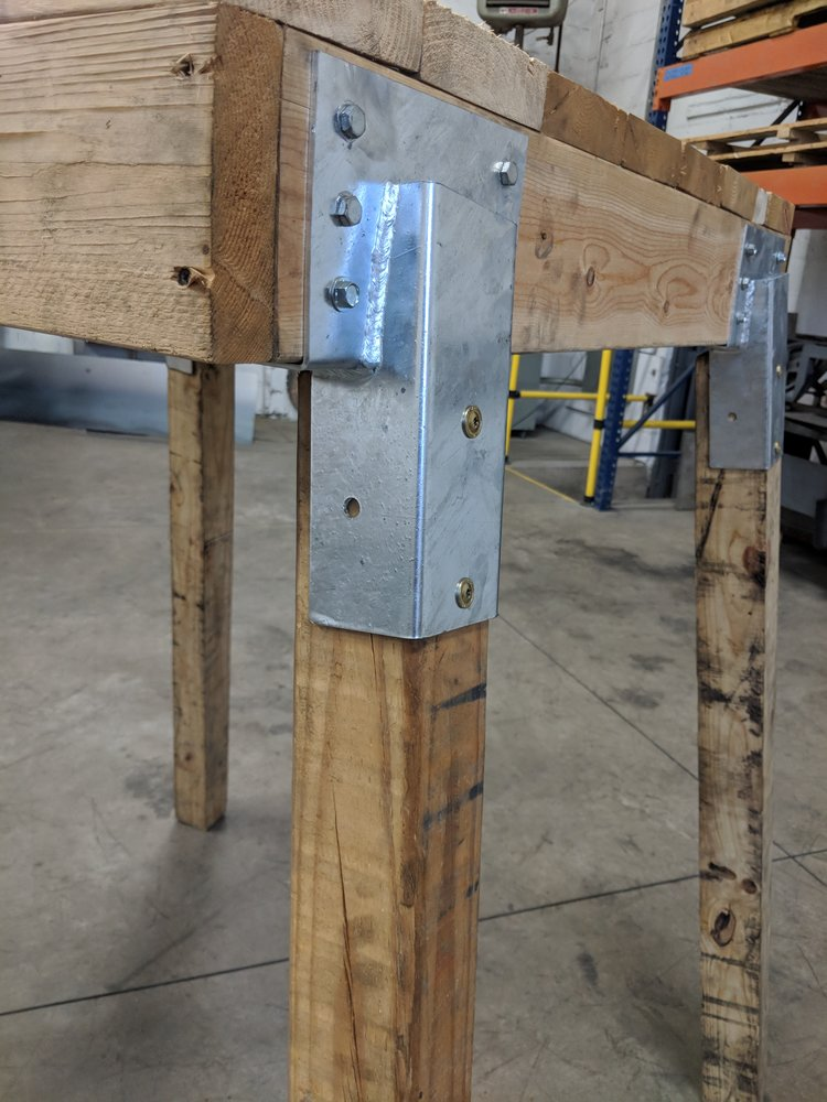 Heavy Duty Galvanized Deer Stand Elevator Brackets 4 Pieces