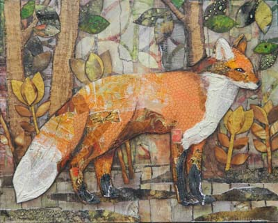 "Kayann Ausherman - ""Fox on a Walk"""