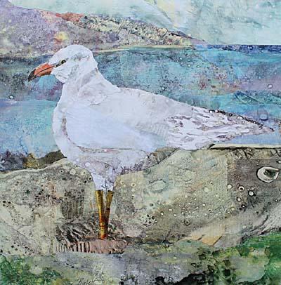 """Cynthia Burkett - """"Seagull Island"""""""