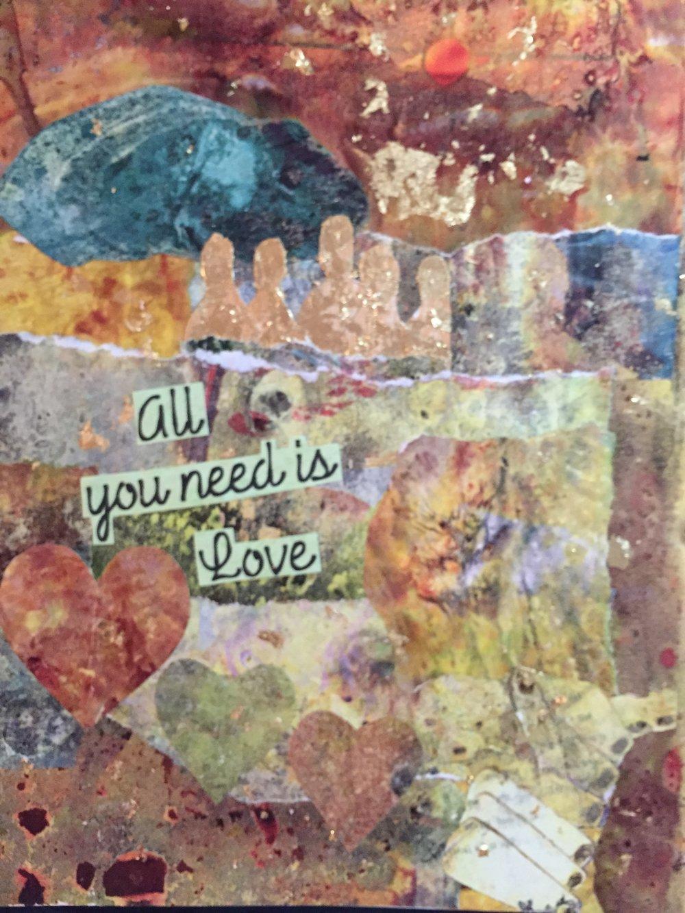 "Brenda Fernandez, ""All You Need is Love"""