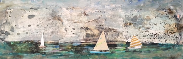 "Maureen Whitehouse - ""Boats Sail Together"""